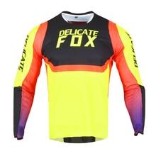 Mountain-Bicycle-Offroad Jersey Racing t-Shirt Motorbike Long-Sleeve Delicate Fox 360-Voke