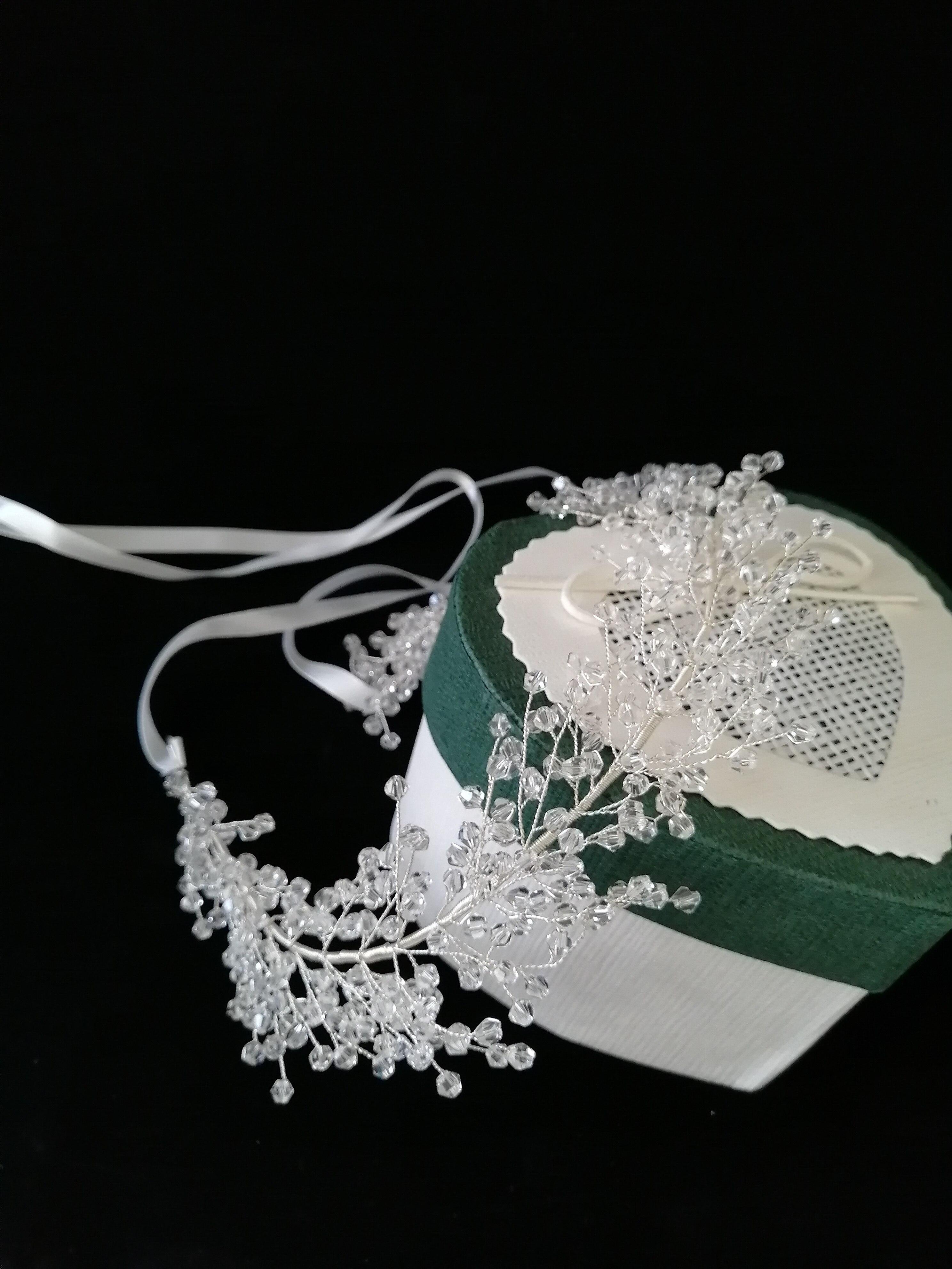 ELEGANT WOMEN BIG FAUX PEARL HAIR HOOP WEDDING BRIDAL HEADBAND HEADWEAR SUPREME