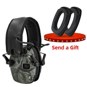 Image 4 - Складные Электронные Наушники для стрельбы, спортивные складные наушники с защитой от шума, для охоты
