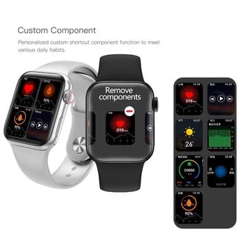 Lerbyee 3D dynamic dial HW12 1.57 inch Smart Watch Men Full Touch Fitness Tracker Blood Pressure Siri Bluetooth call Smartwatch 2