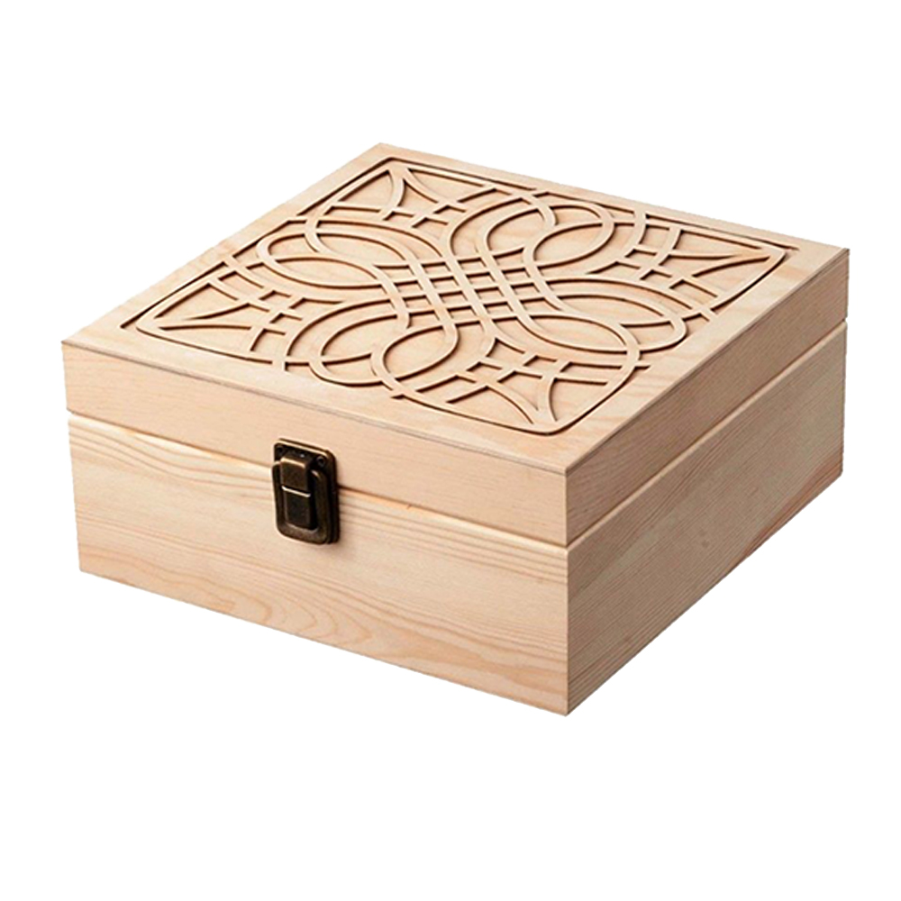 Wooden Essential Oil Box Set 36 Compartments Essential Oil Packaging Box Organizer Jewelry Storage Crafts