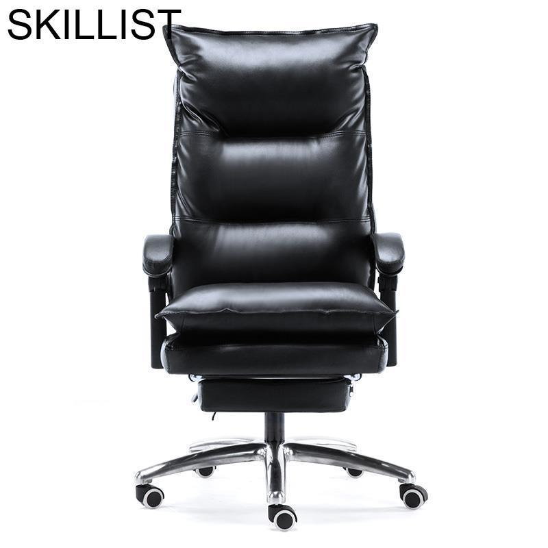Cadeira Armchair Fauteuil Bureau Meuble Taburete Bilgisayar Sandalyesi Furniture Leather Silla Poltrona Gaming Office Chair