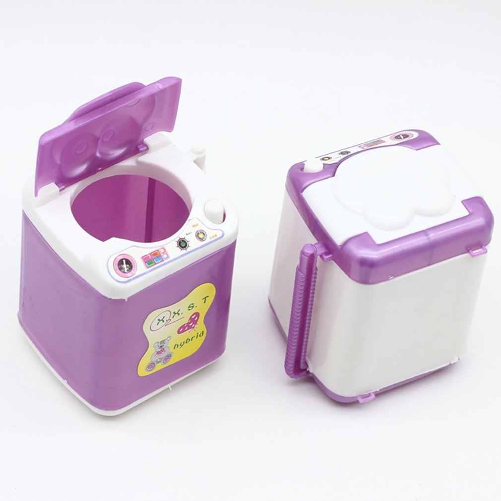 دميات لعبة صغيرة من البلاستيك غسالة القطع لأفضل فتاة فتاة الدمى يعرض للأثاث