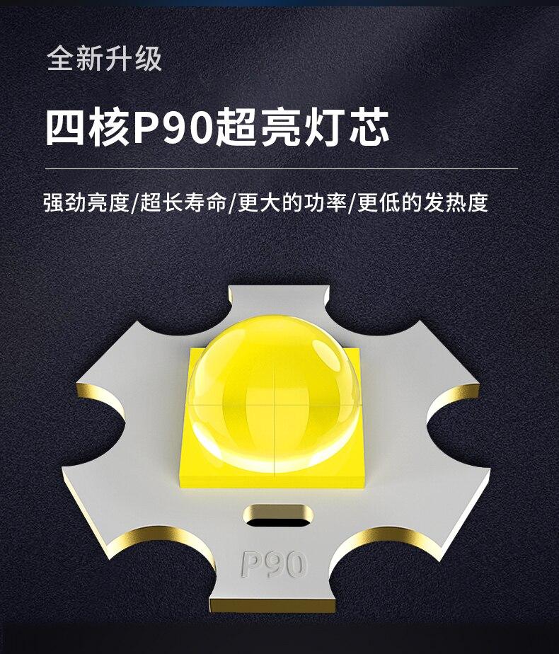Portátil caça lanterna fotografia de longo alcance