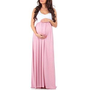 Womens Maternity Sleeveless Dresses