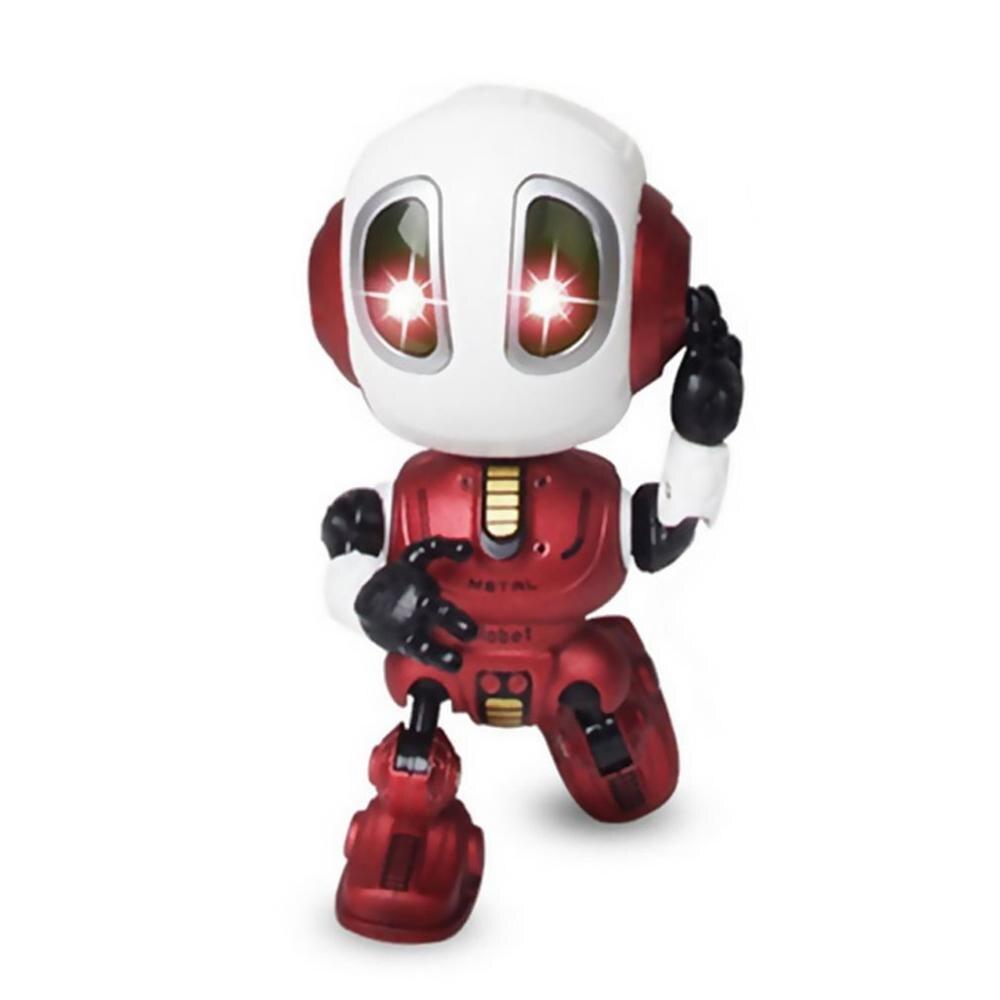 Мини-робот, говорящий, детские игрушки, робот, игрушка, мини говорящий робот, игрушки для путешествий, робот, тело, светодиодные фонари