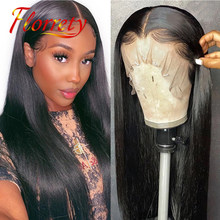 28 Inch 13x4 Bone Straight Pre Plucked Lace Front Wig Human Hair Brazilian Lacefront Lace Frontal Wigs Closure For Black Women