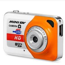 Portable X6 Ultra Mini HD High Denifition Digital Camera Mini DV Support 32GB TF Card with Mic USB Flash Drive for Camera