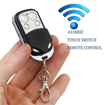 RF Remote ABCD Wireless  Control433 MHz Electric Gate Garage Door Remote Control Key Fob Controller wireless rf remote control 433 mhz electric gate garage door remote control key fob controller