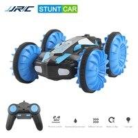 JJRC-Coche de control remoto C10 para niños y adultos, juguete de coche de derrape de alta velocidad, 2,4G, agua y tierra, 3D, volteador, máquina de control remoto, regalo