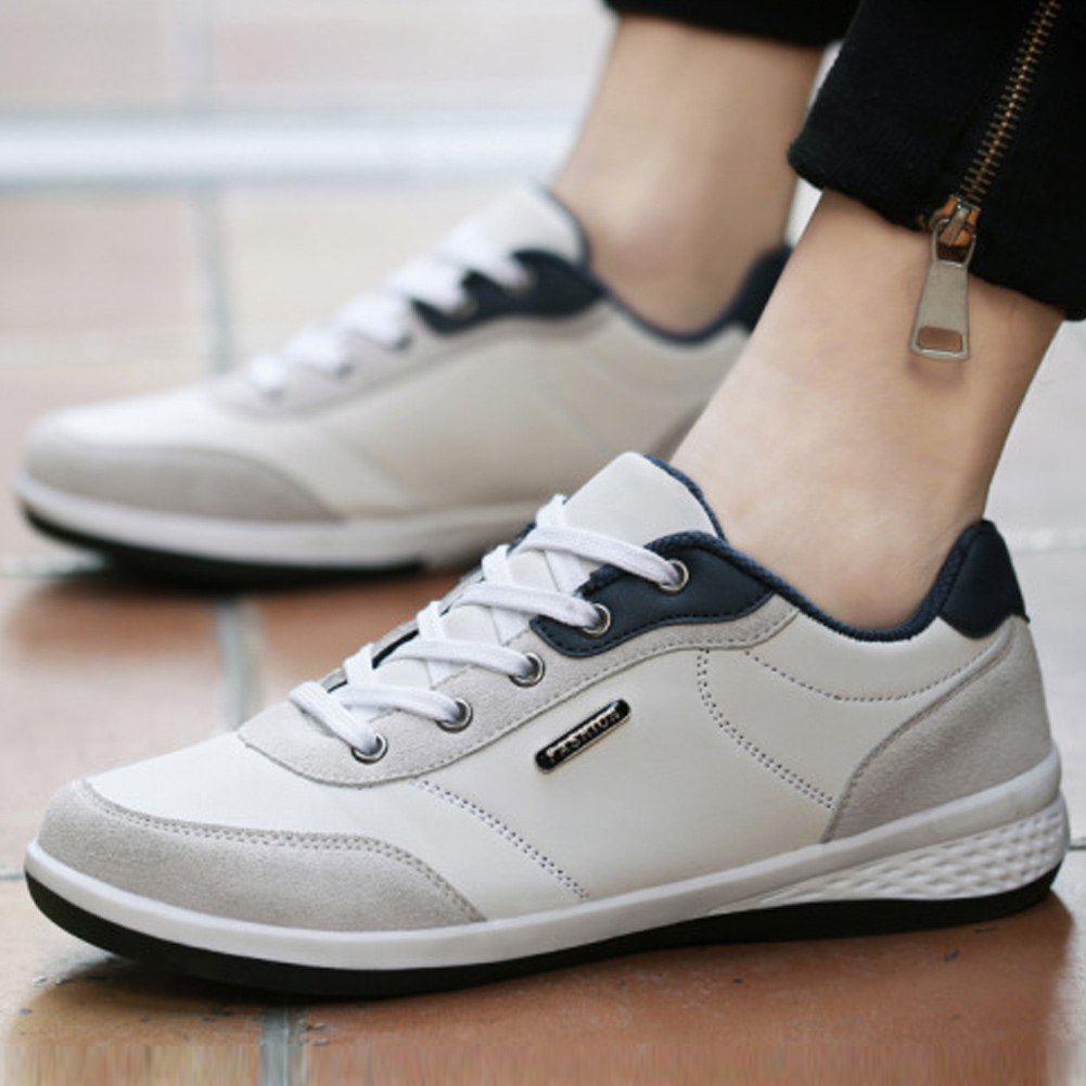 New Style Men Lightweight Sneakers Breathable Casual Spring Autumn Flat Sports Shoes