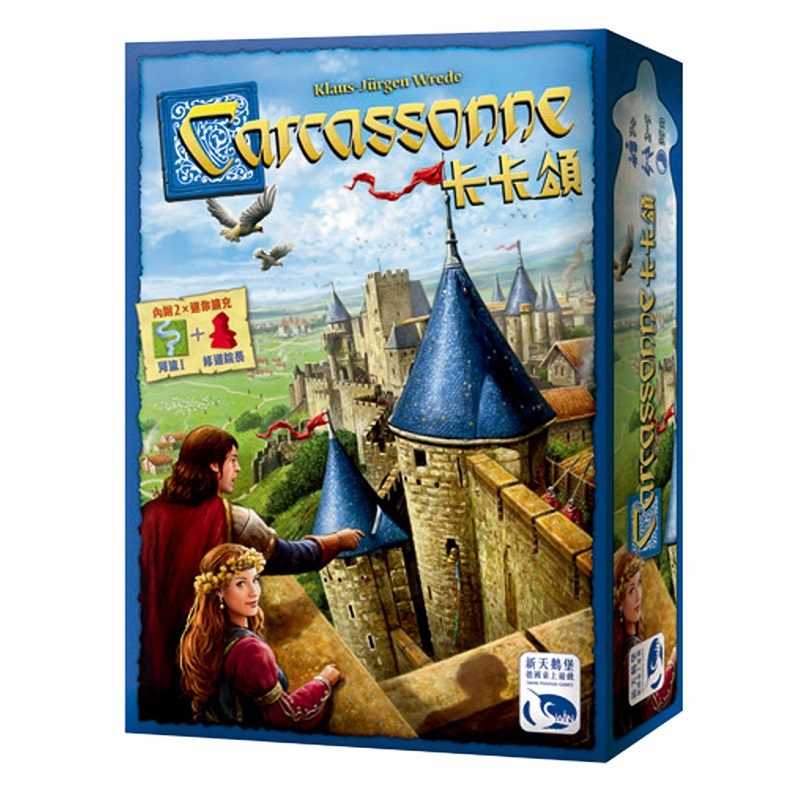 2020NEW English Crystal Version 8Age+ Carcassonne Winter Version And Expansion Pack Board Game Table Card Children's Puzzle Game