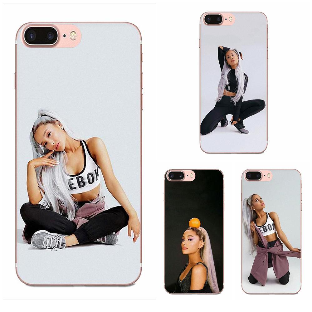 Smartphone Phone Transparent Cases For LG K50 Q6 Q7 Q8 Q60 X Power 2 3 Nexus 5 5X V10 V20 V30 V40 Q Stylus Ariana Grande Fashion