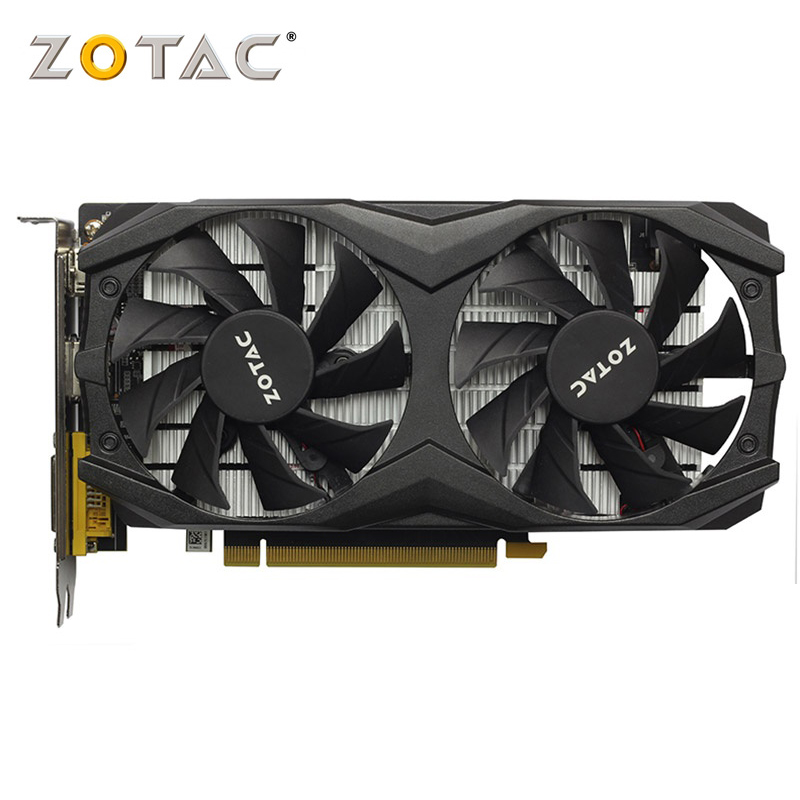 ZOTAC Graphics Card <font><b>GTX</b></font> 1050 Ti 4GD5 128-Bit GDDR5 gaming pc <font><b>gtx</b></font> <font><b>1050ti</b></font> used video card image