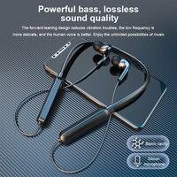 Auriculares Bluetooth con banda para el cuello, cascos deportivos a prueba de sudor, HiFi, auriculares con sonido estéreo, batería de larga duración