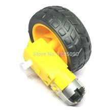TT Мотор умный автомобиль мотор-редуктор для роботов комплект колеса двигатель для шасси робот ардуино пульт дистанционного управления автомобиль DC 3-6V мотор-редуктор