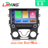 LJHANG Android 9.0 Car DVD Multimedia Player For Ford Mondeo Fusion 2012 2013 2014 WIFI GPS Stereo 2 Din Car Radio Headunit Auto