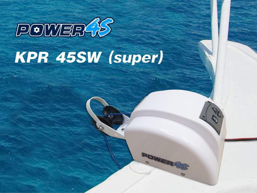 Eau Salée Pour Marine Bateau Ponton 4 options 12 V autodepoly Anchor winch 45 Lb environ 20.41 kg