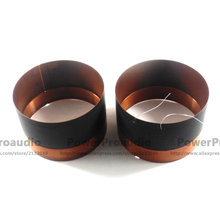 2pcs Hiqh Quality 114mm Voice coil Square Wire 8 Ohm For Loudspeaker Repair(China)
