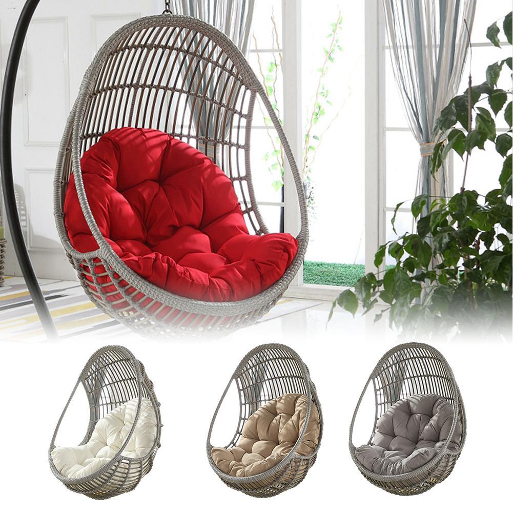Hammock Chair Cushions Garden Seat Cushion Lumbar Back Support Cushion Pillow Beach Home Seat Chair Buttocks Cradle Chair Pad