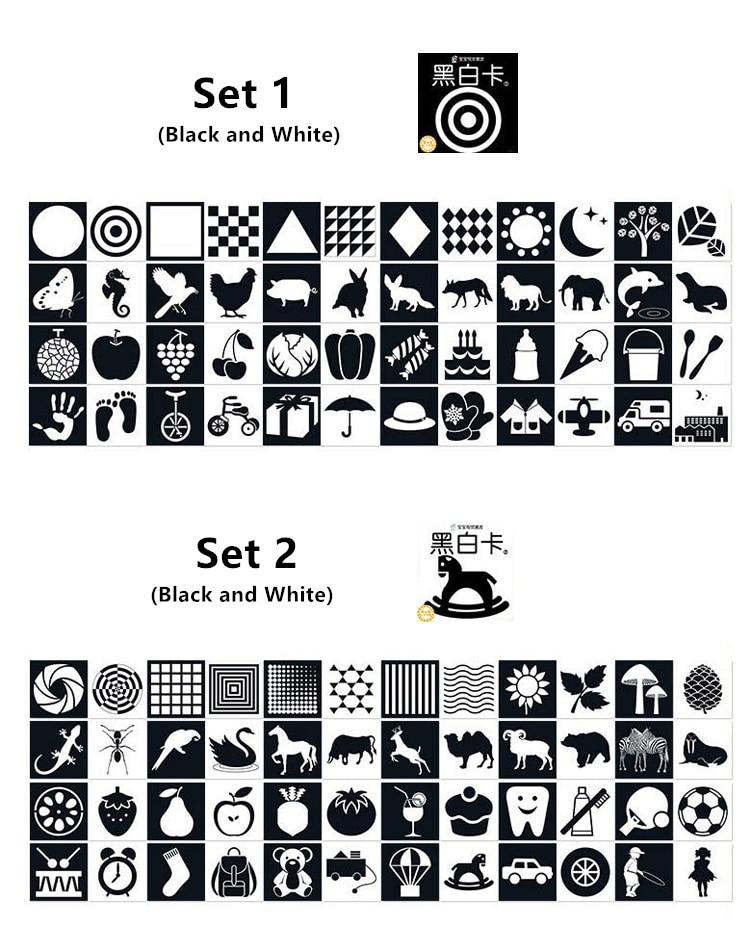 para o bebê preto e branco cartões