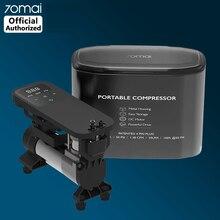 70mai compresseur dair 12V 70 MAI Portable pompe à Air électrique boîte en métal Mini voiture pneu gonfleur pour vélo moto pneu Pumb