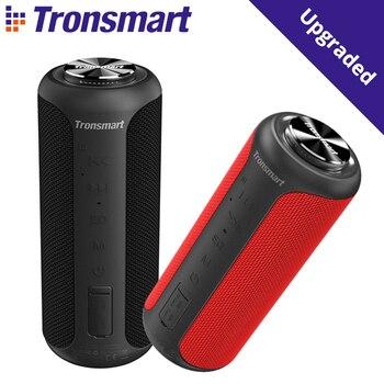 Tronsmart T6 Plus edición mejorada altavoz portátil Bluetooth 5,0 con hasta 40W de potencia, Sonido Envolvente de 360 °, impermeable IPX6, NF