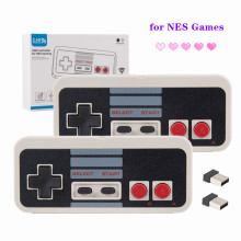 2 Pack 2.4 GHz Wireless USB Classic Controller Compatible with NES Games for Windows PC MAC Linux Genesis Raspberry Pi Retropie
