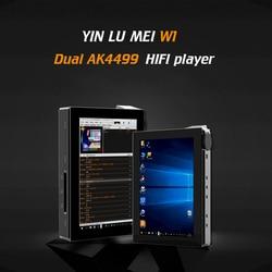 Yinlvmei w1 windows10 jogador duplo ak4499 usb dac ak4499 * 2 jogador de alta fidelidade