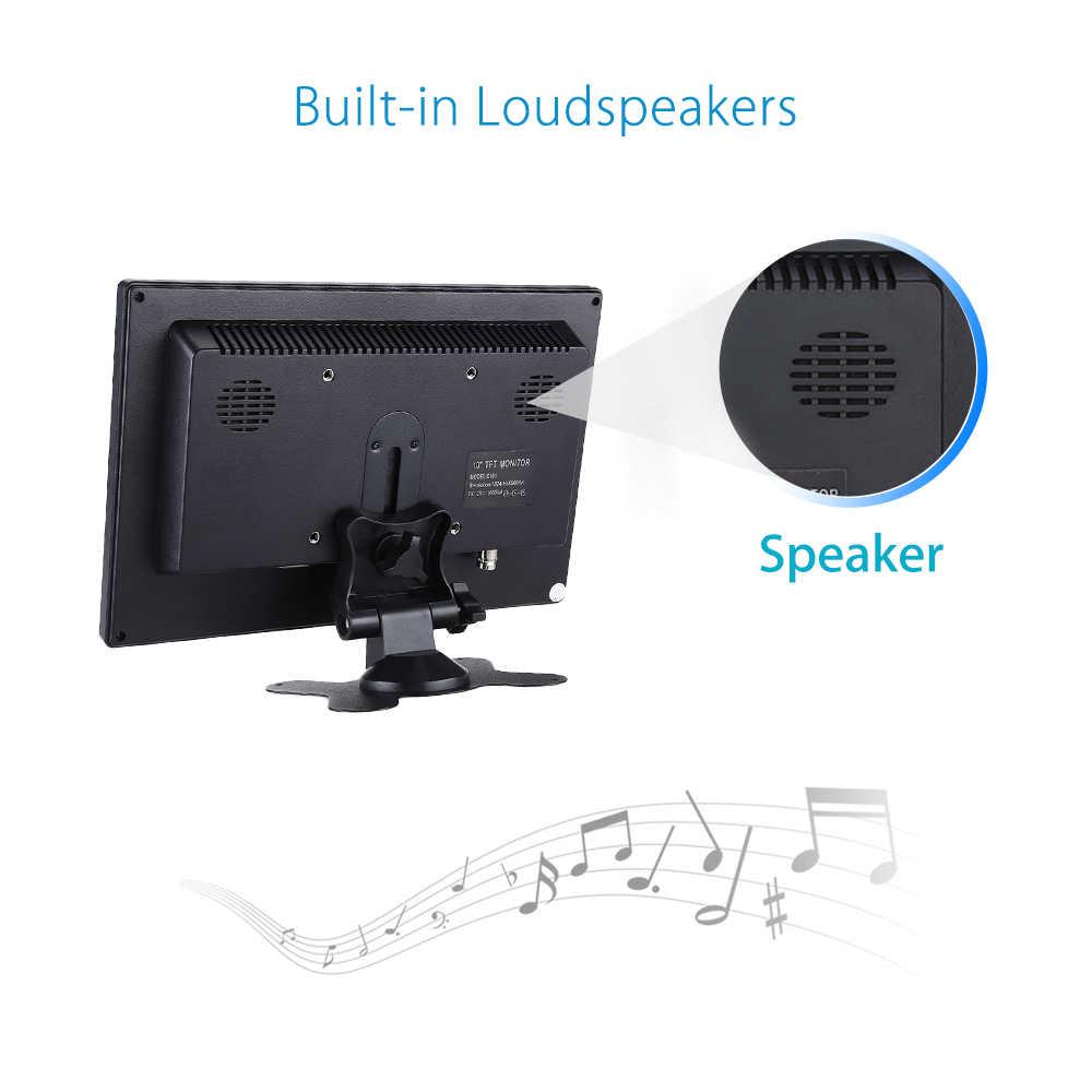 Eyoyo 10.1 Inch Tft Lcd-scherm 1024*600 Cctv Hdmi Bnc Monitor Tv Lcd-scherm Met Av Vga Video audio Speaker Voor Security System