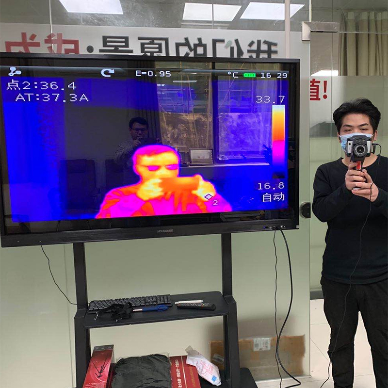 Infrared Thermal Camera With Live Streaming to Computer or TV Bluetooth For Human Body 3