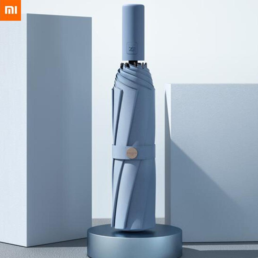 Xiaomi Zuodu Full-Automatic Sunny And Rainy Umbrella Folding Men s and Women s Forest System Is Retro Fashionable And Simple