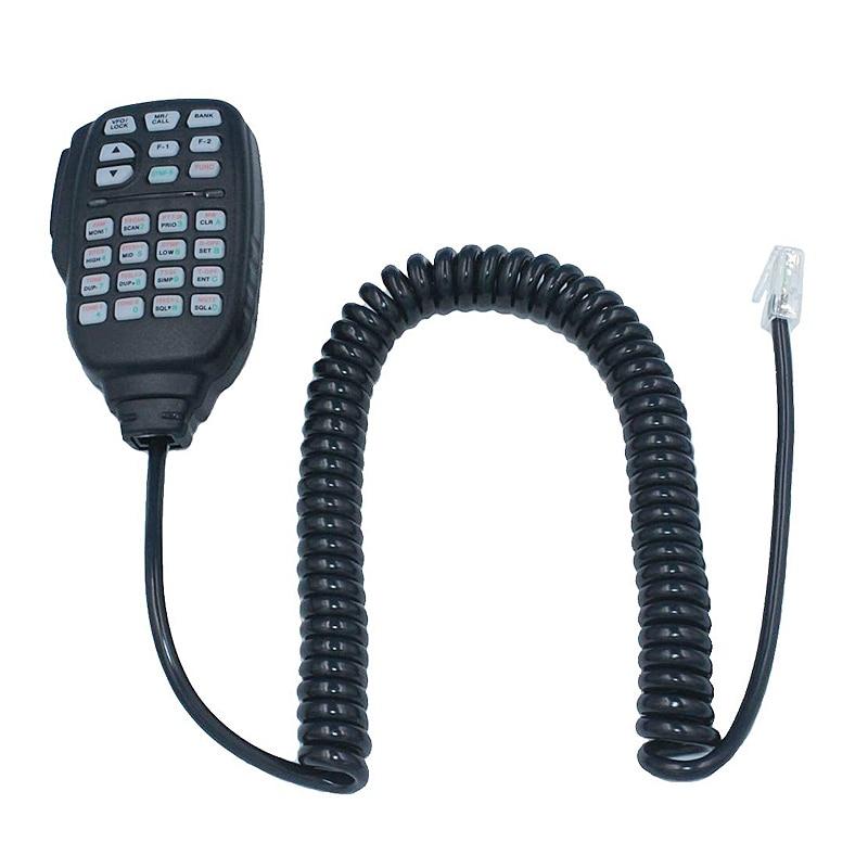 Hot 3C-HM-133 Mic Speaker Handheld Shoulder Mic For Icom Radio IC-207H IC-880H IC-2820H IC-E282 HM-133 RJ-45 IC-2725E IC-2800H I