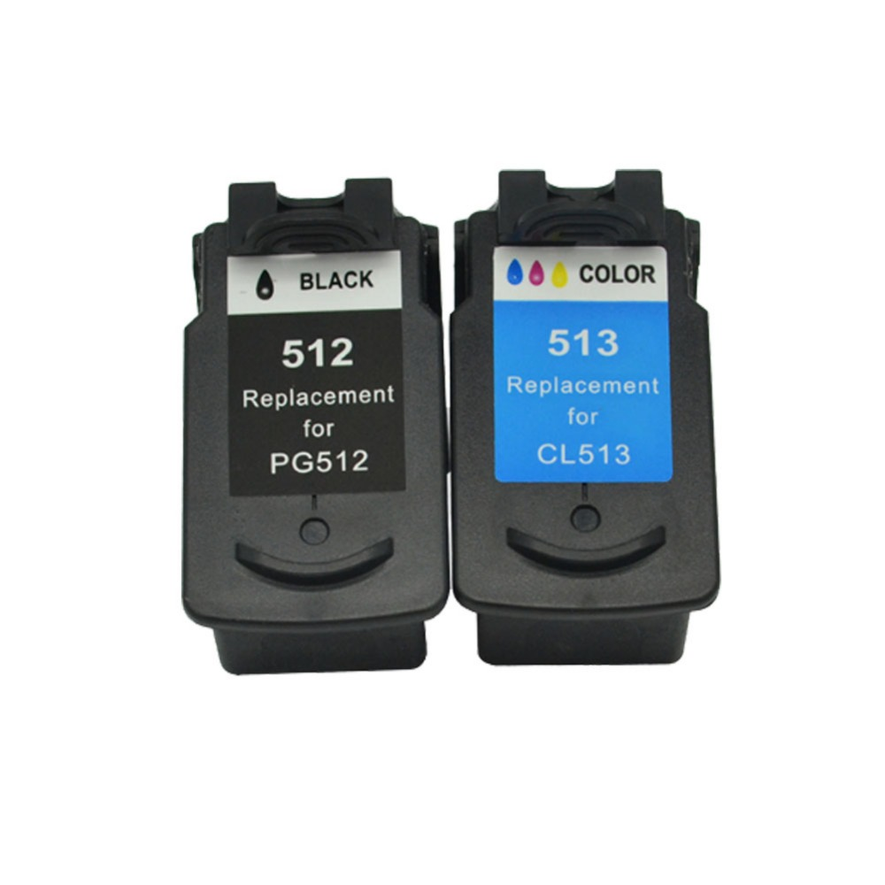 PG512 CL513 Catridge Compatible For Canon Pg 512 Cl 513 Ink Cartridge Pixma Mp230 Mp250 MP240 MP270 MP480 IP2700 Printer
