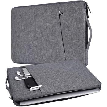 imitation leather laptop sleeve 14 inch men s bag case ultrabook notebook handbag for 14 inch jumper ezbook 3 bag Laptop Bag Case For Macbook Pro Air 13.3 14 15 15.6 15.4 16 Inch Notebook Case Handbag For HP Acer Xiaomi Asus Lenovo Sleeve Bag
