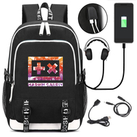 Music DJ Martin USB Charge Backpack Oxford Men Casual Bags Laptop Bags Daily Bag