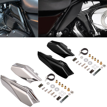 Motorcycle Mid-Frame Air Deflector Under Seat Engine For Harley Touring Street Electra Glide Road King FLHR FLHX FLTR 2001-2008