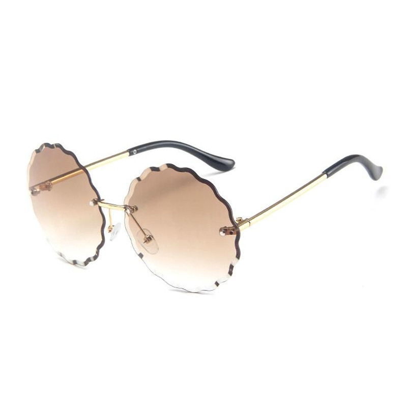 Personality gradient Sunglasses Women Oversized Sunglasses UV400