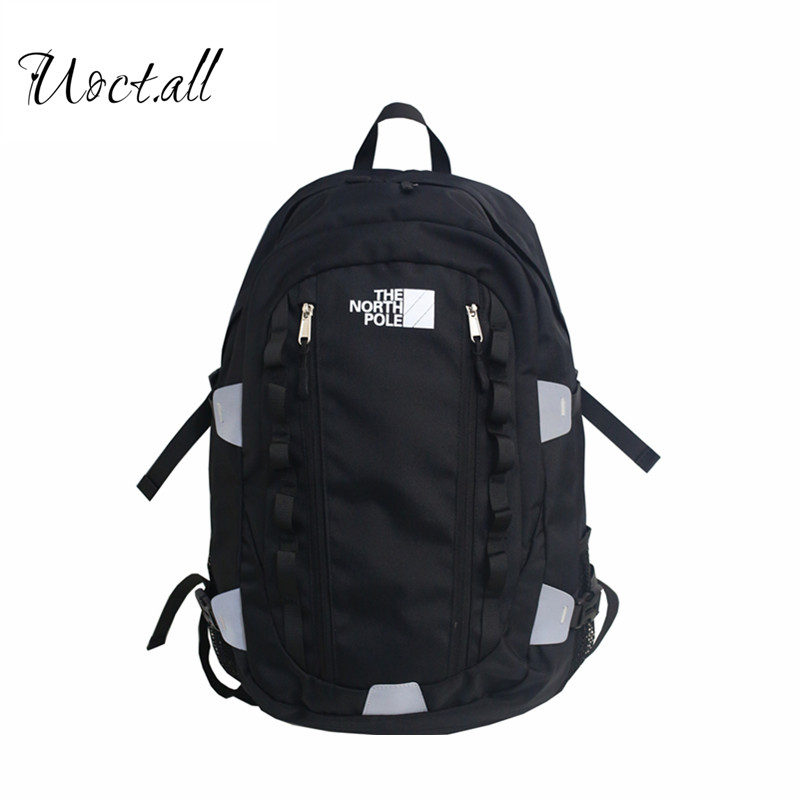Brand Schoolbag Men's Fashion Trend High School Students Backpack Female Large Capacity Computer Bag Travel Bag