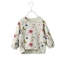 T-Shirts Hoodies Girls Kids Winter Fashion for Long-Sleeves Sweater Autumn Children