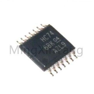 Sn74hc74pw hc74 TSOP-14 4-way 2 entrada positiva ou porta chip de lógica