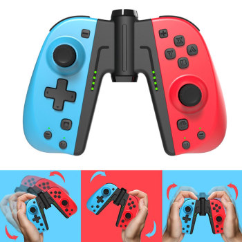 wireless bluetooth game controller vibration six axis gamepad controller with gyroscope accelerator for switch console Wireless bluetooth Gamepad Joystick for Nintendo Switch NS Switch Game Console Wireless Vibration Somatosensory Games Controller