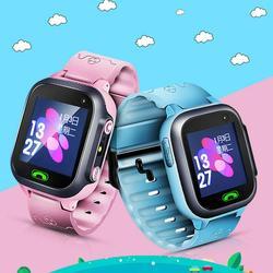 Children's Anti Lost Phone Watch Child Smart GPS Tracker Positioning Watches Kids Baby SOS Monitoring Waterproof Talk Wristwatch