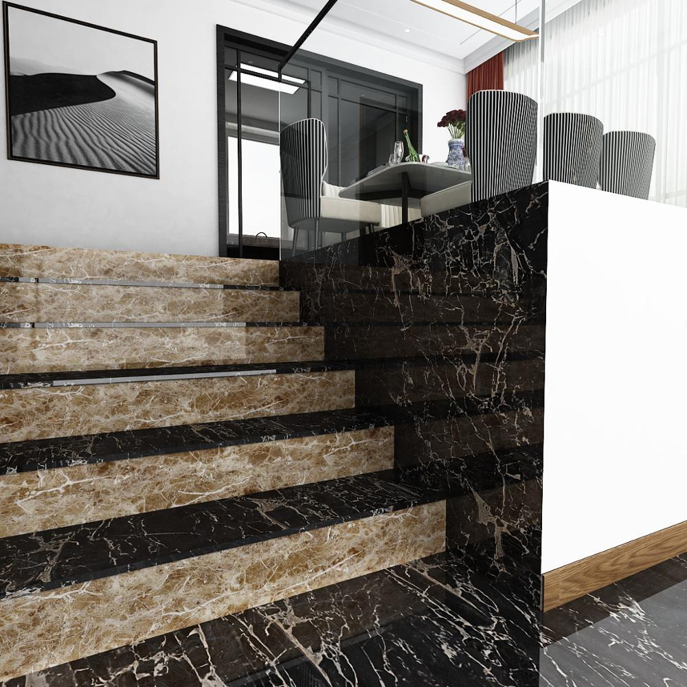 PVC Marble Waterproof Contact Paper Vinyl Self Adhesive Wallpaper Decorative Film Kitchen Cabinets Countertop Furniture Stickers 3