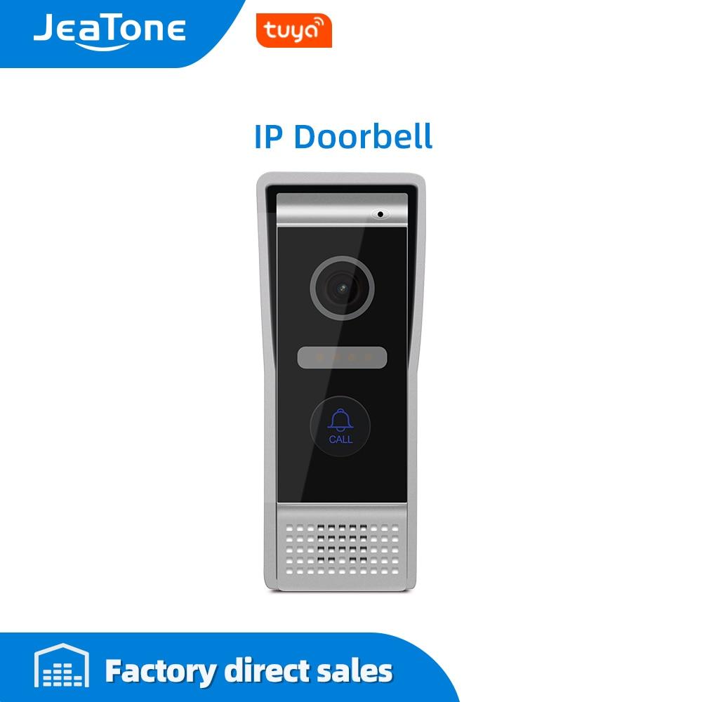 JeaTone Video Door Phone IP Aluminum Door Bell High Resolution Outside Doorbell Call Panel IP65 Waterproof