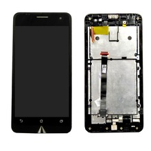 100% Original For Asus Zenfone 5 LCD Screen and Digitizer Full Assembly with Frame original touch screen digitizer with frame for asus transformer pad tf700 tf700t tcp10d47 v0 2 version 100% working perfectly
