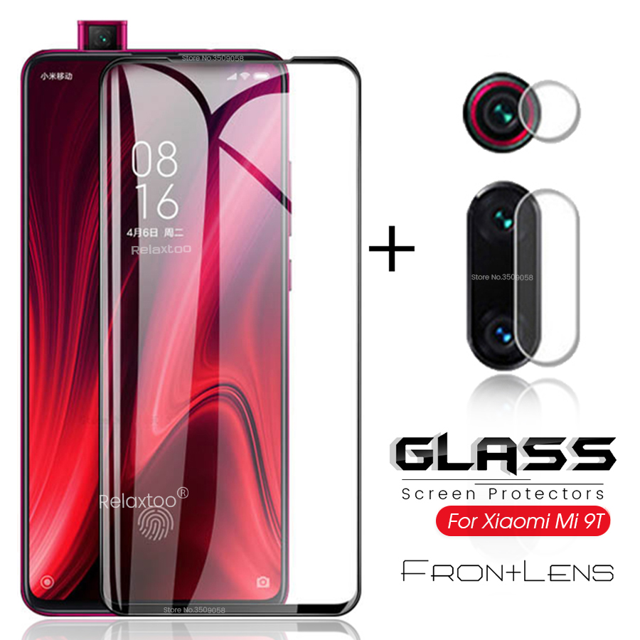2-in-1 Camera Protector For Xiaomi Mi9t Glasses Mi9tpro Protective Glass On Xiomi Xaomi Mi 9t Pro 9tpro T9 T9pro Lens Film Cover