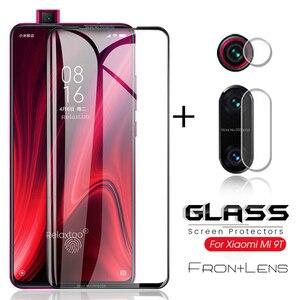 2-in-1 camera protector for xiaomi mi9t glasses mi9tpro protective glass on xiomi xaomi mi 9t pro 9tpro t9 t9pro lens film cover(China)