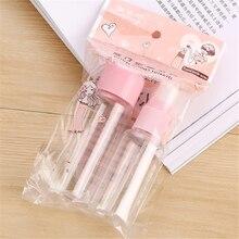 1 pc Transparent PET spray bottle sub-bottle travel empty set lotion remover cream paste Travel accessories