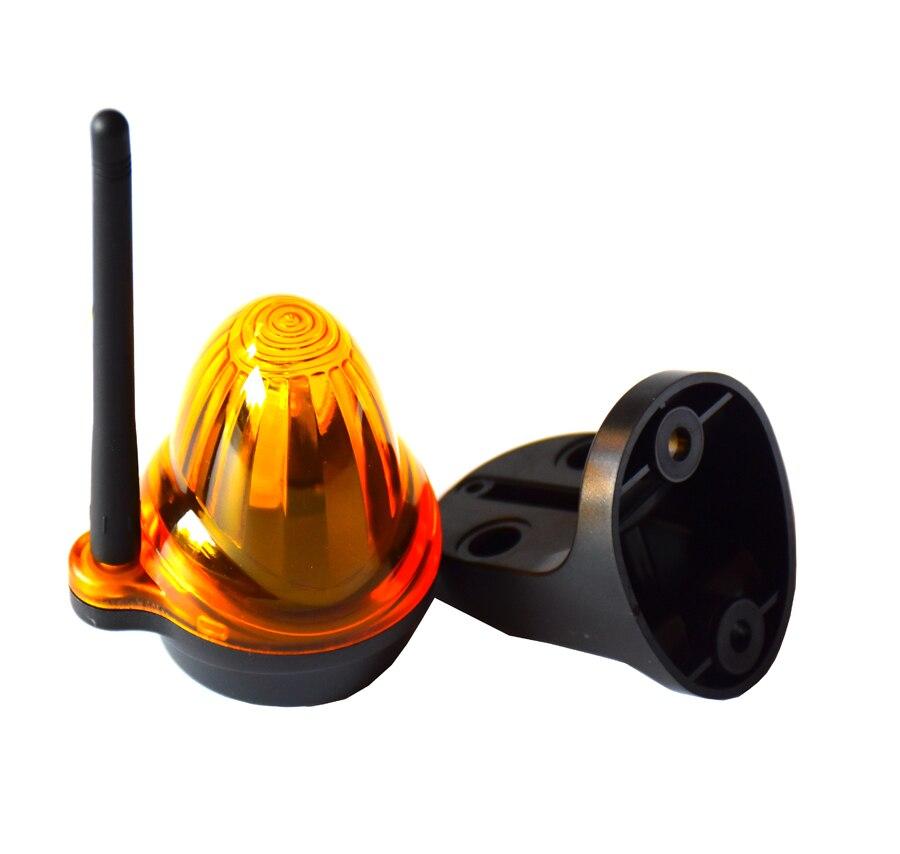 Wide Voltage LED Flashing Alarm Lamp Light Blinker Strobe For Automatic Swing Sliding Garage Gate Opener(no Sound)